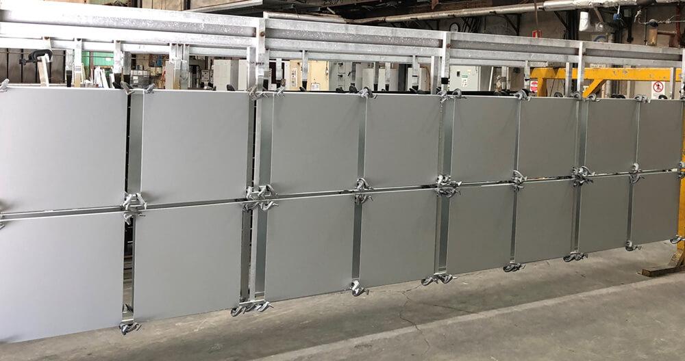 AAF testing of 32 panels